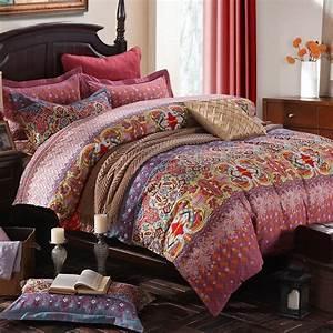 Winlife, Colorful, Bohemian, Bedding, Set, Bohemian, Duvet