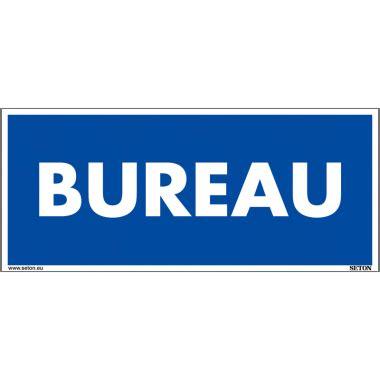 panneau bureau panneau de signalisation en pvc bureau seton fr