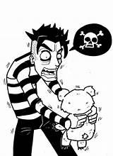 Maniac Johnny Homicidal Deviantart Drawings sketch template