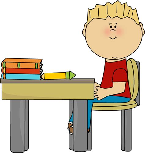 student at desk clipart student in seat clipart 20