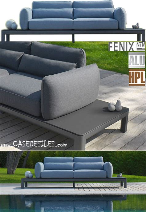 canape jardin aluminium canape de jardin aluminium canap 233 modulable design