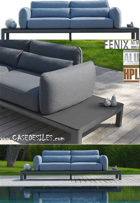 canape jardin aluminium canape de jardin aluminium canapé modulable design