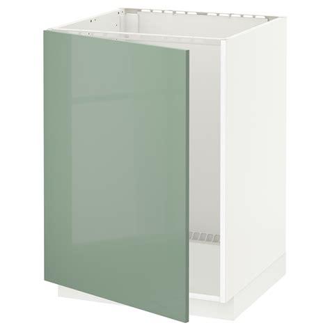 ikea kitchen lights cabinet metod base cabinet for sink white kallarp light green 7467