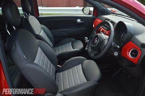 Fiat 500 Seats by 2013 Fiat 500 Twinair Review Performancedrive