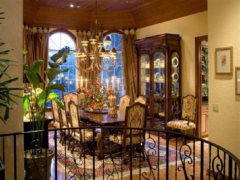 Bloombety  Luxury Dining Room Mediterranean Decorating
