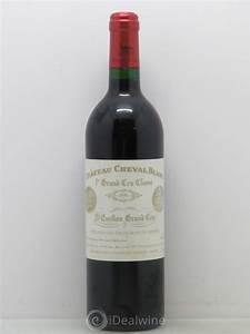 Chateau Cheval Blanc Prix : acheter ch teau cheval blanc 1er grand cru class a 1995 ~ Dailycaller-alerts.com Idées de Décoration