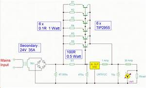 7812 Ic 12 Volt 30 Amp Psu Circuit