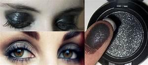 Nail polish: make-up, smoky, sparkle, glitter, heavy eye ...
