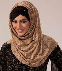 How to Style Up Lace Hijab for Pretty Girls Ideas – Girls ...