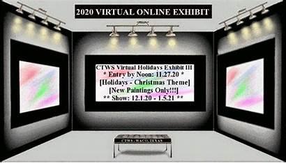 Exhibit Virtual Texas Deadline Entry Watercolor