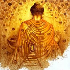 Moksha Buddha Painting by Prince Chand