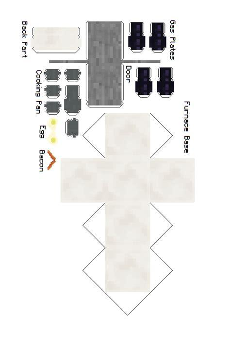 Minecraft Kitchen Furniture Papercraft Kitchen Furniture