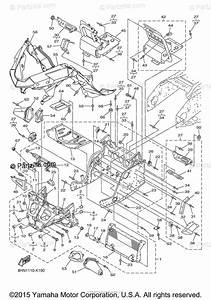 Yamaha Snowmobile 2012 Oem Parts Diagram For Frame 1