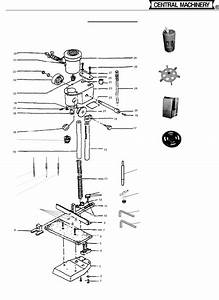 Harbor Freight 1 2 Hp Mortising Machine Product Manual 35570