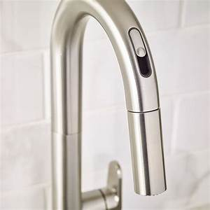 Beale pull down kitchen faucet with selectronic hands free for Where to buy kitchen faucets