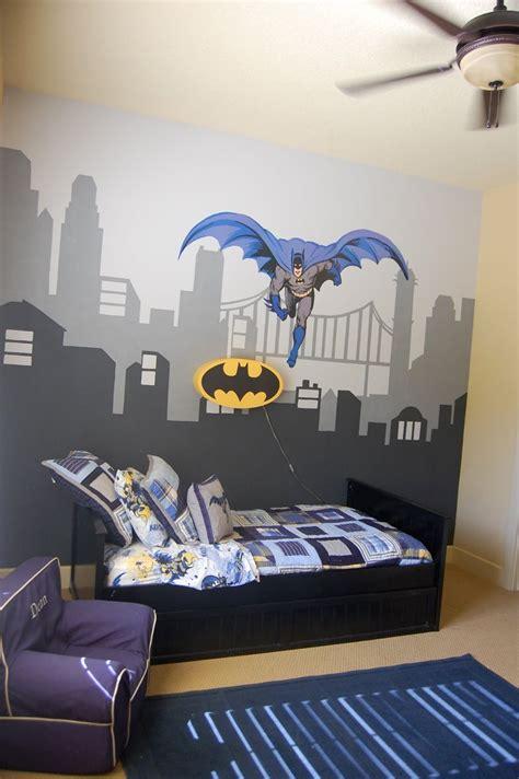 my s batman room pottery barn bedding batman light and anywhere chair i had