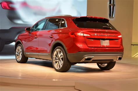 2016 Lincoln Mkx Officially Unveiled