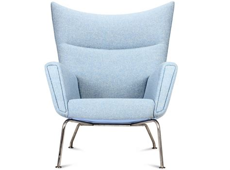 replica ch445 wing chair by hans wegner platinum replica