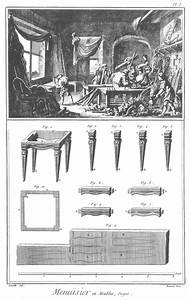 Furniture Design Reference  Diagrams Of 18th Century