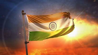 Flag 4k Indian Wallpapers India Sky Backgrounds