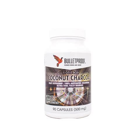 coconut charcoal  ct charcoal capsules detox gas
