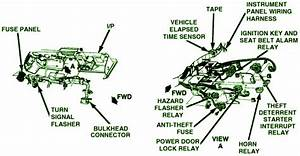 1987 Chevrolet Corvette Top Fuse Box Diagram  U2013 Circuit