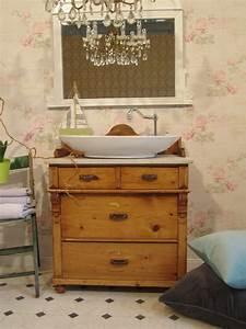 Waschtisch Kommode Mit Marmorplatte : waschtisch im landhausstil home spa im eigenen bad ~ Markanthonyermac.com Haus und Dekorationen