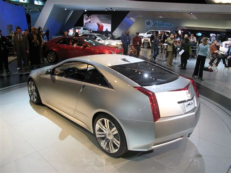 Cadillac Cts Coupe Concept by 2008 Cadillac Cts Coupe Concept Picture 226914 Car