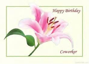 Birthday Wish Co-Worker