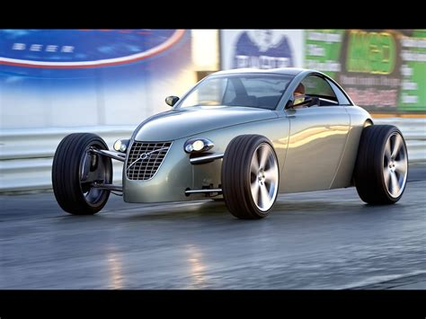 2005 Volvo T6 Roadster Hot Rod Concept Side Angle