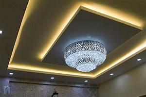 False ceiling spotlights : Bhk villa interiors of mrs vasiya aleem bonito designs