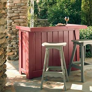 Simple diy outdoor bar tips to build for your house exterior for Diy outdoor bar
