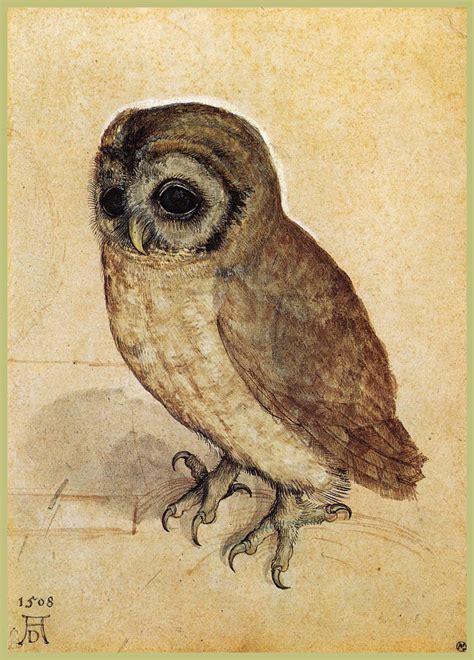 owl  albrecht durer wikiartorg
