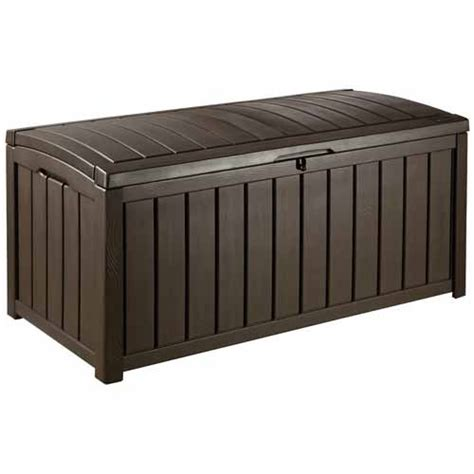 Keter Glenwood Deck Box Assembly by Keter Glenwood Cushion Box Outdoor Furniture Accessories