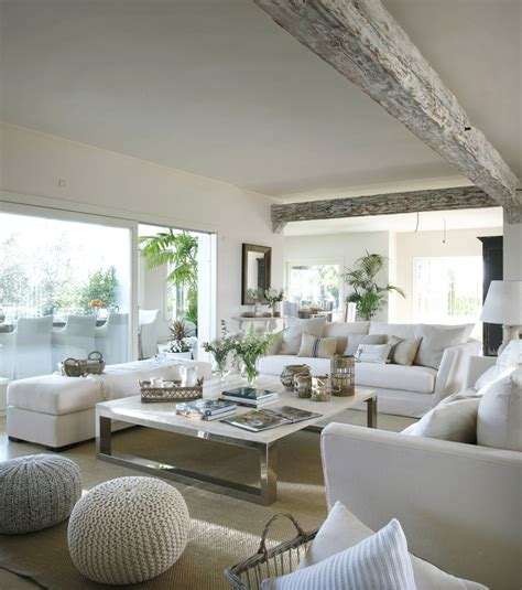 About Living Room by Classic Style Interior Design In White And Beige 4betterhome