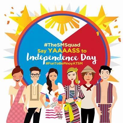 Sm Independence Philippine Celebrate Supermalls Patriotism Philippines