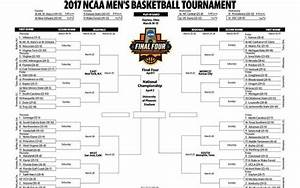 Download and print a 2017 NCAA men's basketball tournament ...