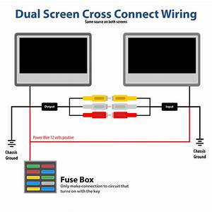 Cross Connecting Two Headrest Dvd Players