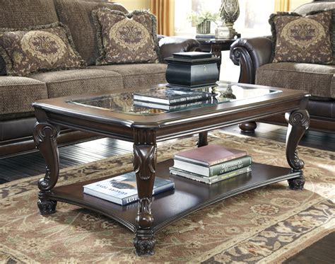 Traditional Brown Norcastle Sofa Table by T519 1 Norcastle Traditional Ornate Brown