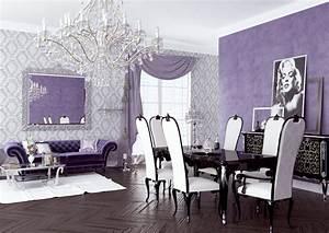 Purple Living Room Decor Ideas