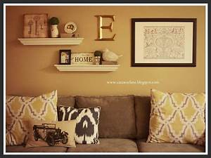 Ideas about above couch decor on pinterest decorate over a for What kind of paint to use on kitchen cabinets for sofa size wall art