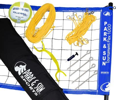 park sun tournament flex 1000 volleyball net
