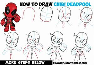 How to Draw Chibi Deadpool Easy Step by Step Drawing ...