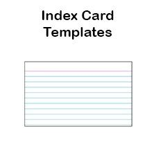 3x5 business cards printable index card templates 3x5 and 4x6 blank pdfs