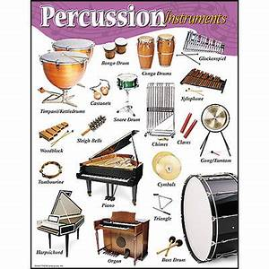 School Posters | Percussion Instruments Music Poster