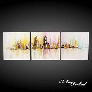 Tableau Triptyque Moderne : tableau triptyque sur 2017 avec tableau triptyque moderne des photos flavorsnj ~ Teatrodelosmanantiales.com Idées de Décoration