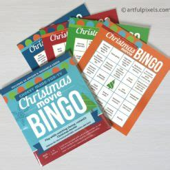christmas  bingo stocking stuffer edition funny