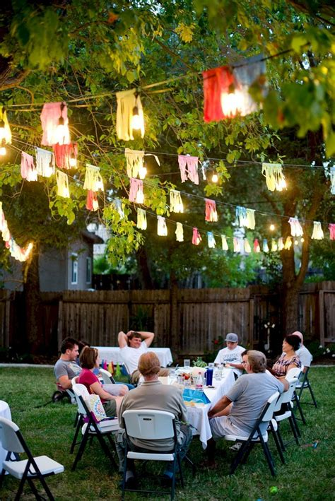 45+ Incredible Decoration For Back Yard Party Ideas