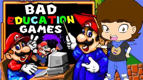 Mario's Bad Educational Games!  Connerthewaffle Youtube