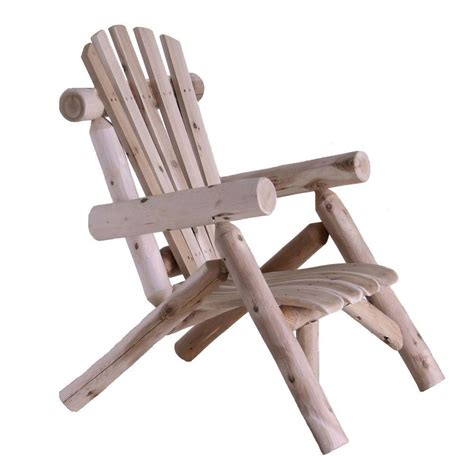 lakeland mills cedar log patio lounge chair cf1126 the